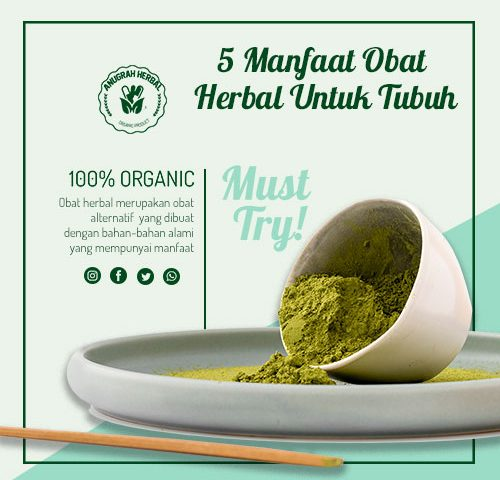 manfaat obat herbal