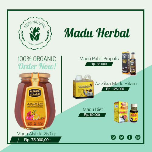 daftar harga madu herbal surabaya